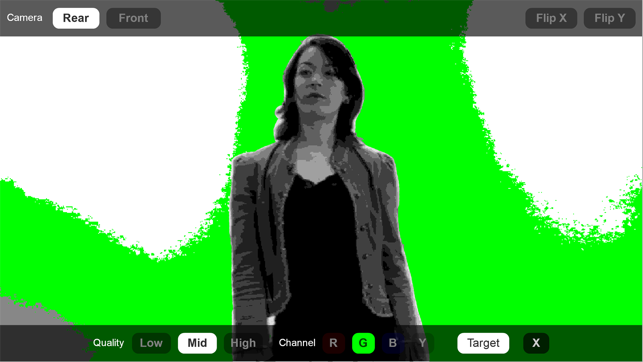 ‎Green Screener Screenshot