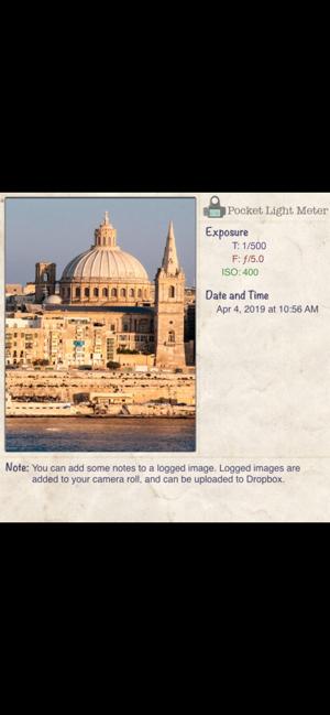 Pocket Light Meter Screenshot