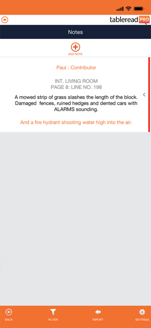 tableread Screenshot
