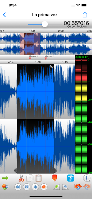 ‎TwistedWave Audio Editor Screenshot