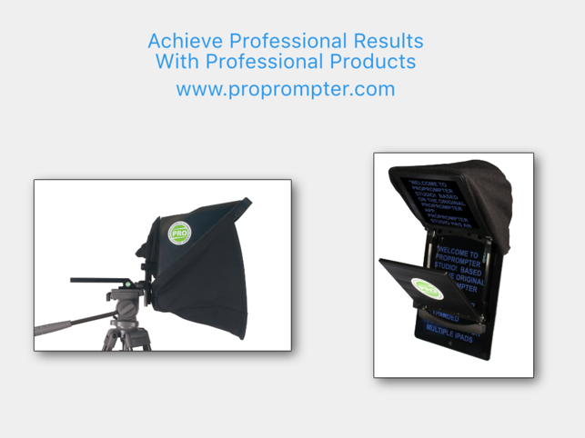 ProPrompter Studio Screenshot