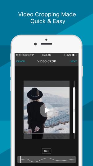 Video Crop - Convert Portrait into Landscape Screenshot