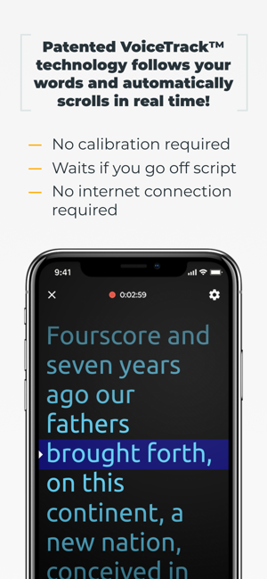 PromptSmart Pro - Teleprompter Screenshot